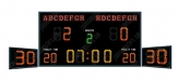 Water Polo Scoreboard With Shot Timer
