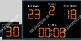 Water Polo Scoreboard With Shot clock and controller