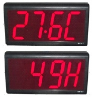 Time/Temperature/Humidity clock