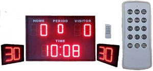 Water Polo scoreboard and SHot Clock with Wireless controller
